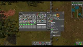 Factorio Uranium Weapons Fun