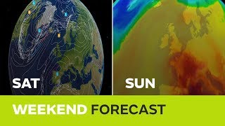 Weekend weather – Sunshine and thunderstorms this Bank Holiday weekend