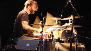 Dance Gavin Dance - The Robot With Human Hair Pt. 4 [Matthew Mingus] Drum Video Live [HD]