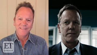 Kiefer Sutherland Hopes Viewers Connect With Quibi's 'The Fugitive' Series