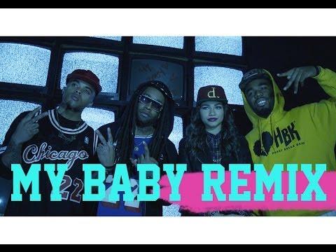 My Baby (Remix) [Feat. TY$, Bobby Brackins, & Iamsu!]