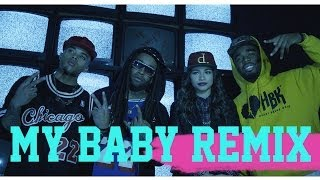 Звёзды Диснея, Zendaya - My Baby Remix (ft. TY$, Bobby Brackins, & Iamsu!)
