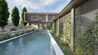 42 Sable Hills Estate - Lumion 10 - Contemporary Architecture