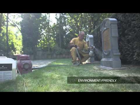 Ošetření náhrobků emulzí HORSEMEN StoneCare
