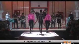 Александр Маккуин-Дискваред2, Показ DSQUARED2 2010-2011