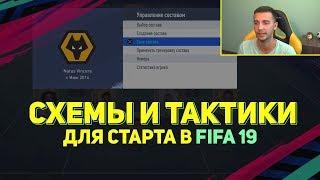 СХЕМЫ И ТАКТИКИ ДЛЯ СТАРТА В FIFA 19
