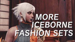More Iceborne Fashion Sets! #MHW #Iceborne