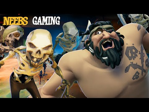 HOLY CRAP!  There Are So Many SKELETONS!  |  Sea of Thieves: Tall Tales #10