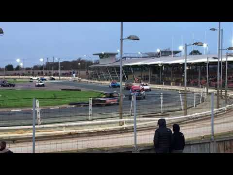 Great Yarmouth Micro Bangers Team Racing New Year's Day 2018