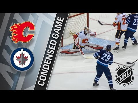 Calgary Flames vs Winnipeg Jets – Apr. 05, 2018 | Game Highlights | NHL 2017/18. Обзор