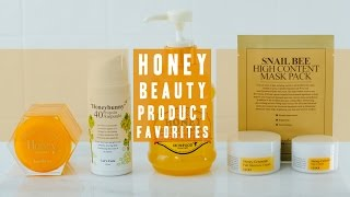 Honey Skin Care Favorites | Asian Beauty Products