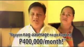 AIM GLOBAL Success Story - Elny And Anita Tare (from BOHOL)