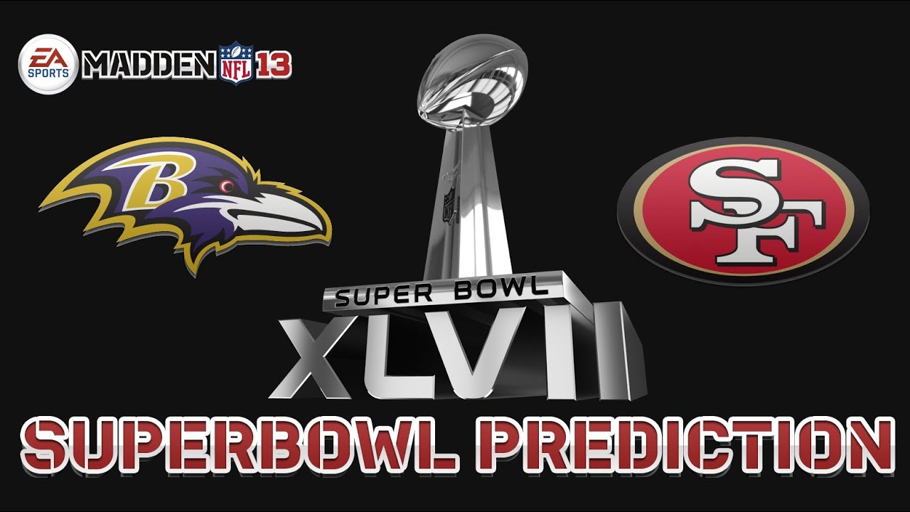 Madden Says Baltimore Wins Super Bowl XLVII