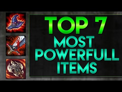 Top 7 Most Powerful Items - Raten - [LOL/GER]