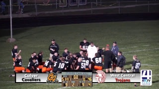 Culver Varsity Football vs West Central