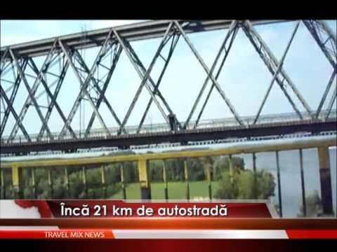 Încă 21 de kilometri de autostradă – VIDEO