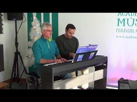 António Martins piano prof Márcio Camptown Races Stephen Foster AMFZZ DEZ 2017