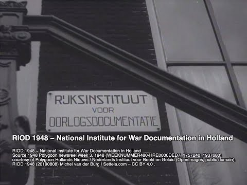 RIOD 1948 ~ National Institute for War Documentation in Holland – Settela