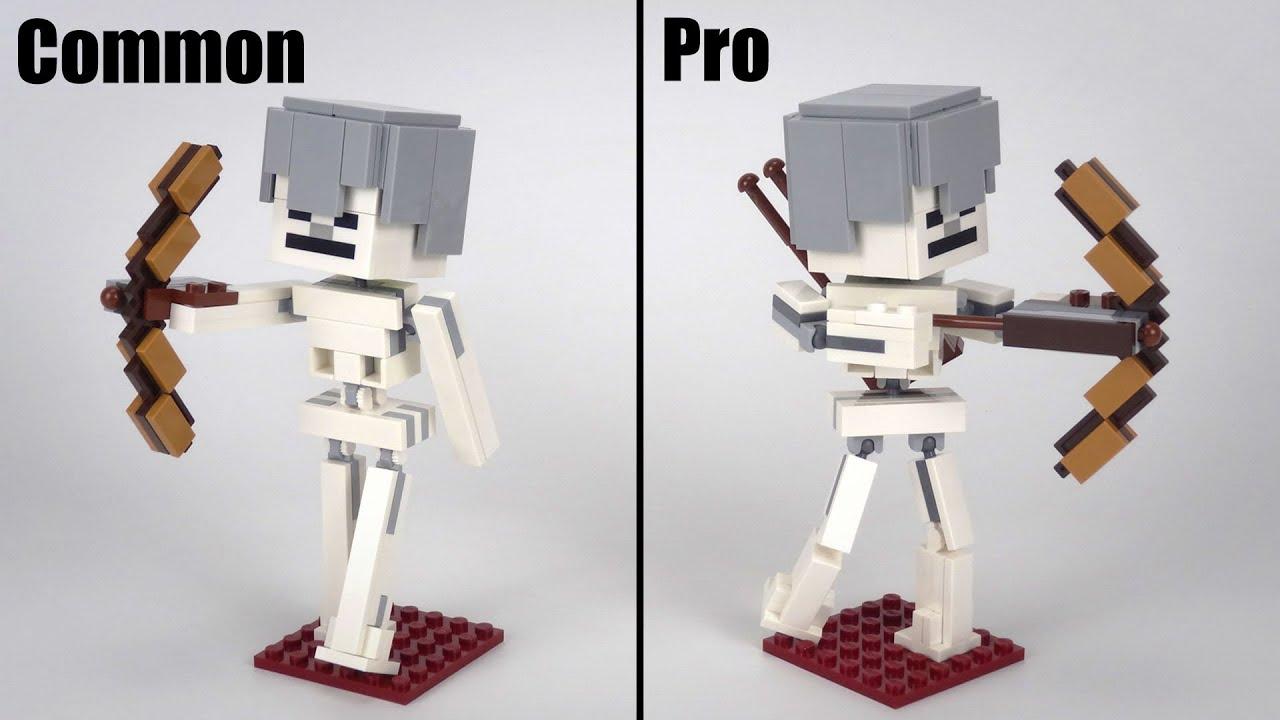 LEGO Minecraft 21150 Skeleton Big Figure Upgrade MOC