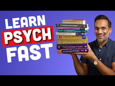Fastest way to learn psychology in college
