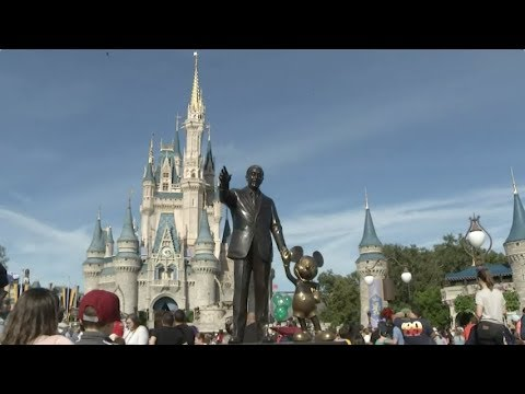 Walt Disney World recently showed the Associated Press what it takes to put their shows together. It's a shift for a resort that hasn't allowed many peaks behind the curtains of the fantasy it creates. (Jan. 17)