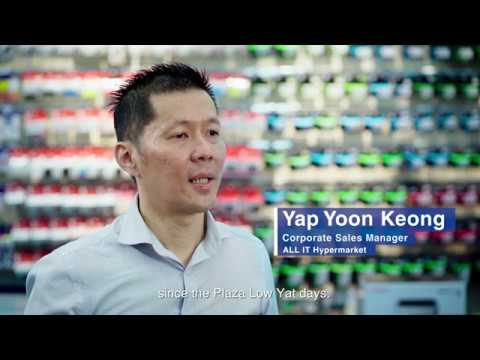 Epson EcoTank Monochrome Printers: ALL IT Hypermarket customer story
