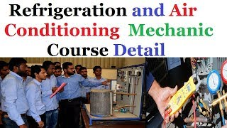 Refrigeration & AC Mechanic Course Full detail - Career in Refrigeration and AC - ITI Course