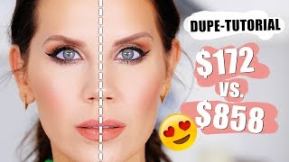 FULL FACE OF DUPES | Drugstore vs. Highend