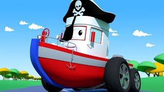 Odtahové auto pro děti - Člun Boby by šel rád na maškarní bál