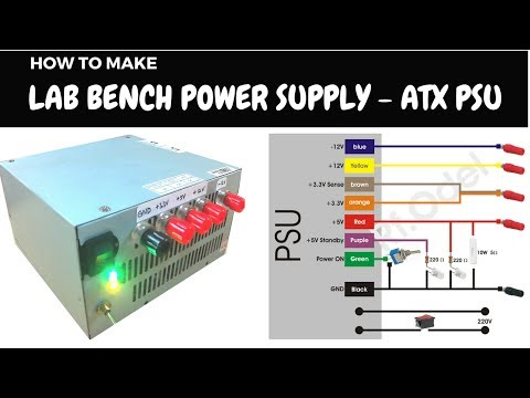 DIY Lab Bench Power Supply from ATX PSU