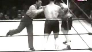 Primo Carnera and Jack Sharkey