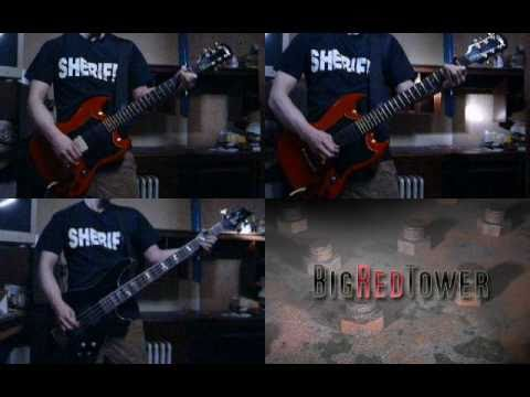 Poison Heart - Ramones (cover by BigRedTower) played on 2 guitars and a bass