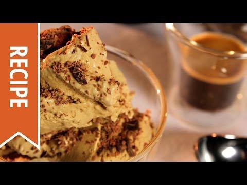 Video Coffee Ice Cream Recipe