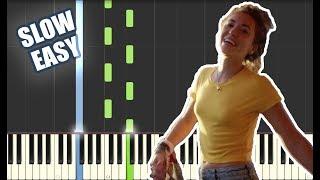 You Say - Lauren Daigle   SLOW EASY PIANO TUTORIAL + SHEET MUSIC by Betacustic