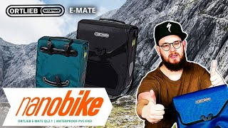 Ortlieb E-Mate QL2.1 wasserdichte Fahrradtasche | Review (German | English Sub)