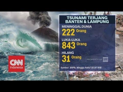 Update Pencarian Korban Tsunami Banten Dan Lampung