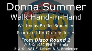 "Donna Summer - Walk Hand in Hand LYRICS - HQ ""Disco Round 2"" 1982"
