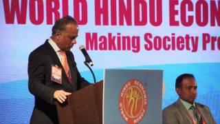 Shri S P Kothari Speech at WHEF 2016@Los Angeles