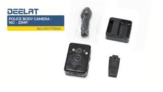 Police Body Camera - 16G - 23MP