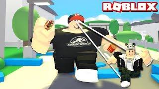 Kim Daha Aç? Yemek ye veya Öl! - Panda ile Roblox Eat or Die