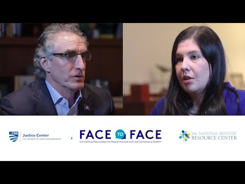 Thumbnail: Face to Face: North Dakota Governor Doug Burgum Meets with Person in Recovery
