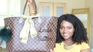 Louis Vuitton Neverfull GM | What's In My Bag | June 2017