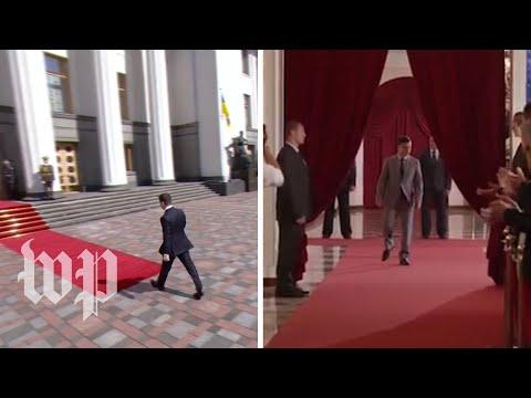 Ukraine's TV president is now its actual president
