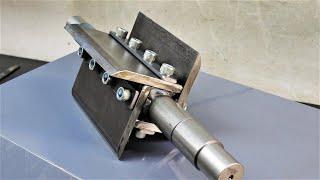 Making Wood chipper mechanism [PLANS]