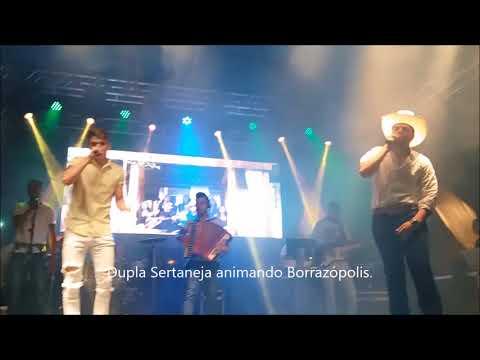 Show da Virada com João Vitor e Gabriel em Borrazópolis.