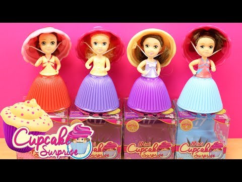 Mini Cupcakes Sorpresa | Mini Cupcake Surprise Dolls | Cupcakes Sorpresa con Muñeca Princesa