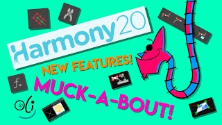NEW! Toon Boom Harmony 20 New Features Muckabout! With Oli Putland