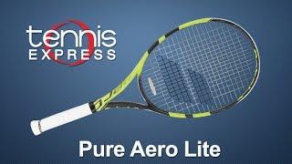 Ρακέτα τέννις Babolat Pure Aero Lite video