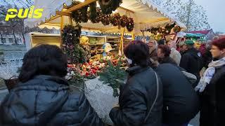 preview picture of video 'Adventní trhy - Hradec Králové 2014'