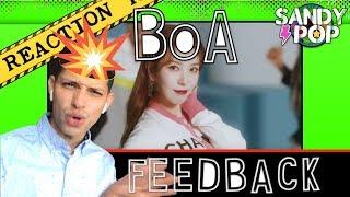 BoA 보아 'Feedback (Feat. 넉살)' MV REACTION